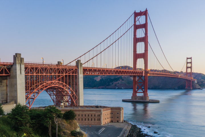 Top 10 Things To See in San Francisco - Golden Gate Bridge