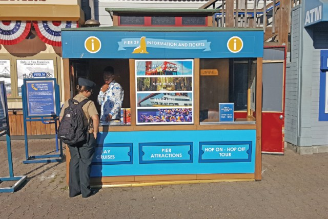 Things to Do at Pier 39 - Info Kiosk