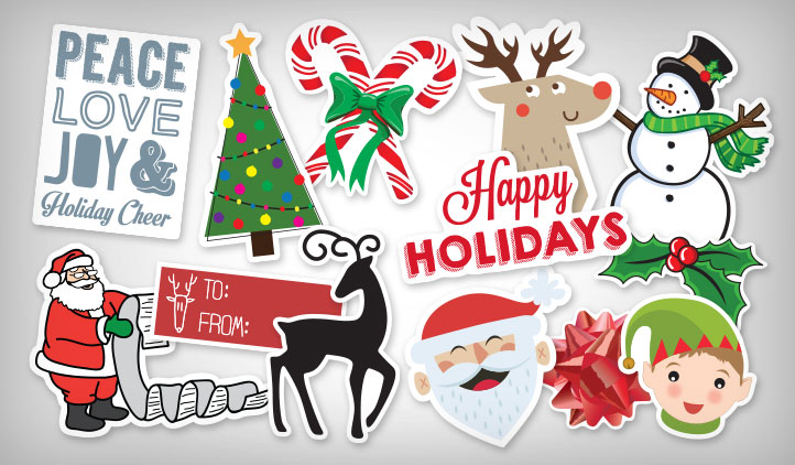 Christmas Stickers StickerYou Products StickerYou