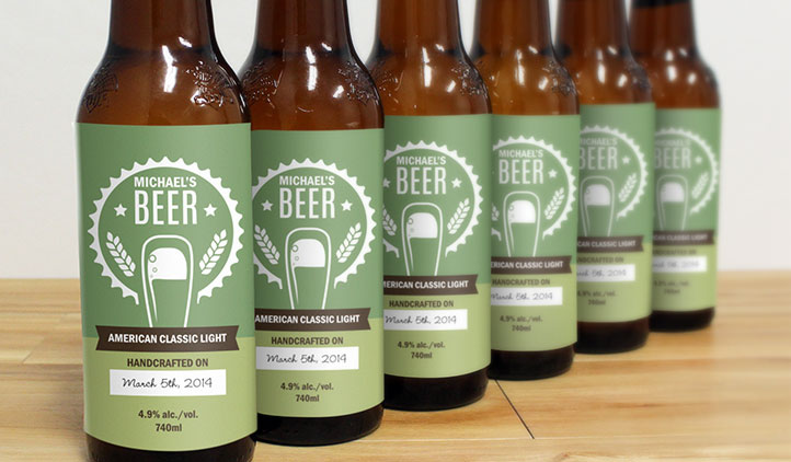 Beer Label Template Word. Beer Bottle Label Templates Download