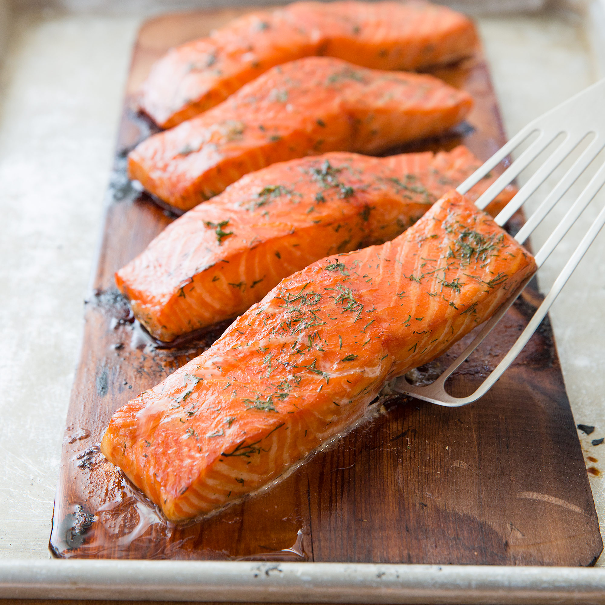 Cedar Planked Salmon Cooks Country