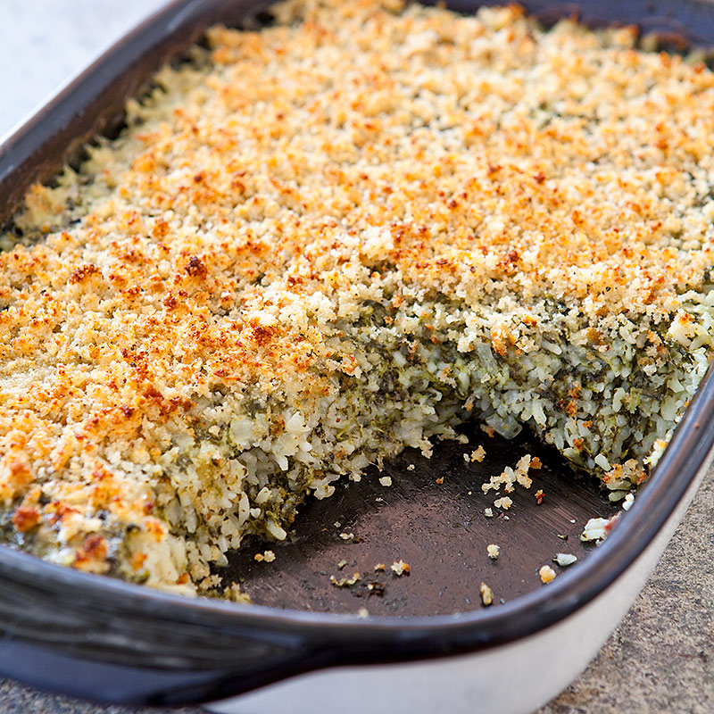 Green Rice Casserole Cooks Country