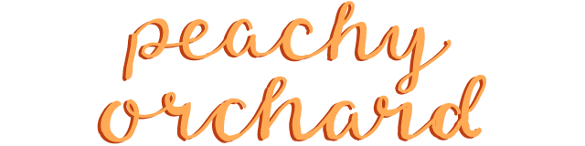peachy orchard