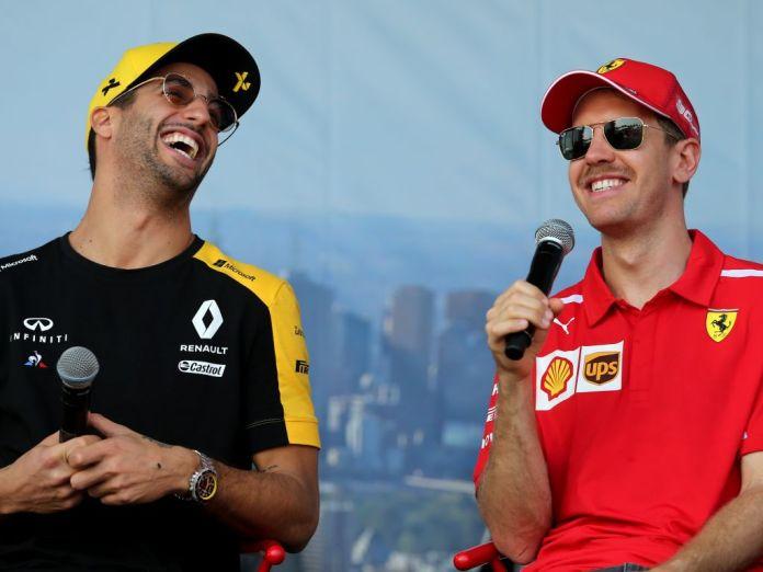 Daniel Ricciardo: One strong race and Sebastian Vettel is back ...