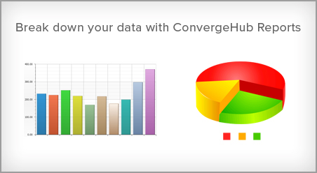 Break down your data with ConvergeHub Reports