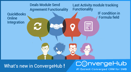 What's new in ConvergeHub (Release Update on 11th December 2015)