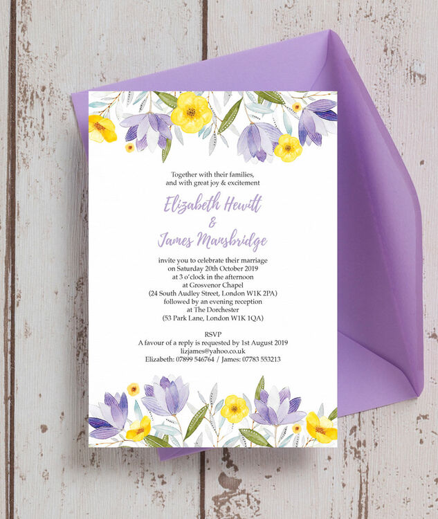 Printable Invitation Card Stock