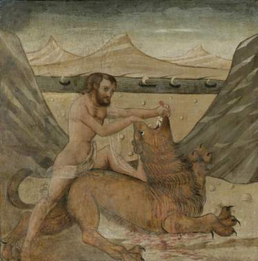 Hercules Slaying the Nemean Lion (The First Labour of Hercules) | Art UK
