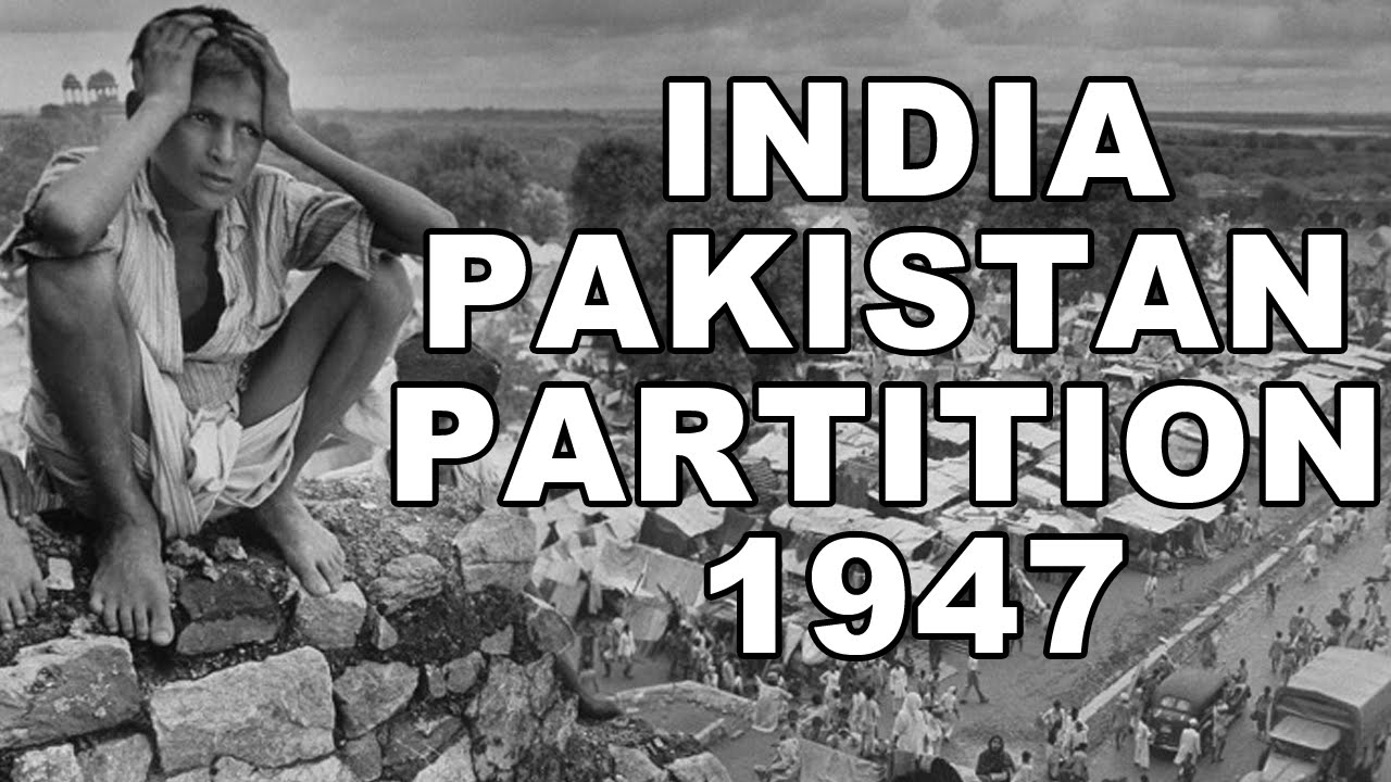 The Partition Of India Took Place In Year 1947 After Gained Independence From British Rule Muslim Section Northern Became