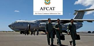 AFCAT Recruitment 2018
