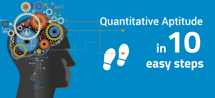 Quantitative aptitude in 10 easy steps