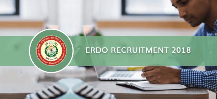 ERDO Recruitment 2018