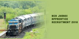 NCR Jhansi Apprentice Recruitment