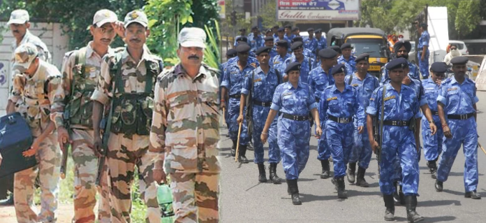 Paramilitary Forces India