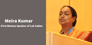 Meira Kumar The First Woman Speaker of Lok Sabha