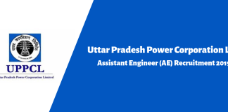 UPPCL Assistant Engineer (AE) Recruitment 2019
