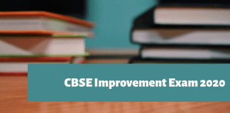 CBSE Improvement Exam 2020