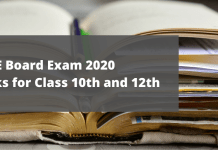 Pass Marks for CBSE Board exam 2020 for class 10th and 12th