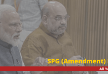 SPG (Amendment) bill 2019