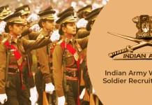 Women soldier recruitment 2020