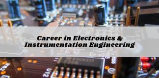 Career in Electronics & Instrumentation Engineering