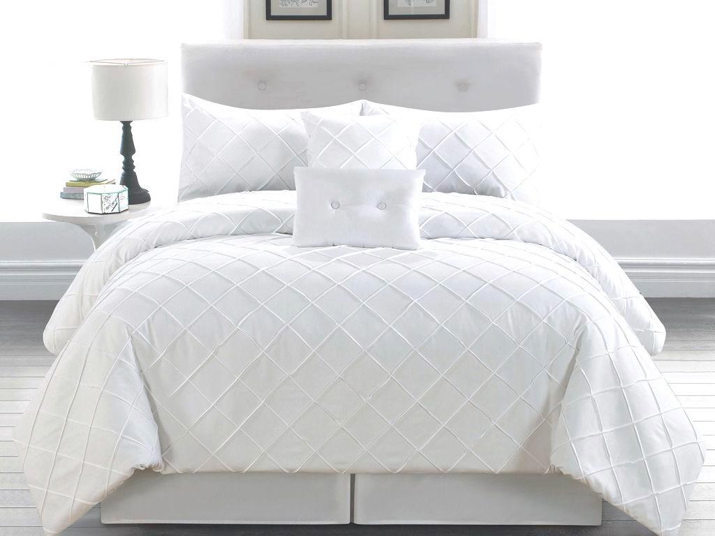 6 Piece Cal King Melia White Comforter Set