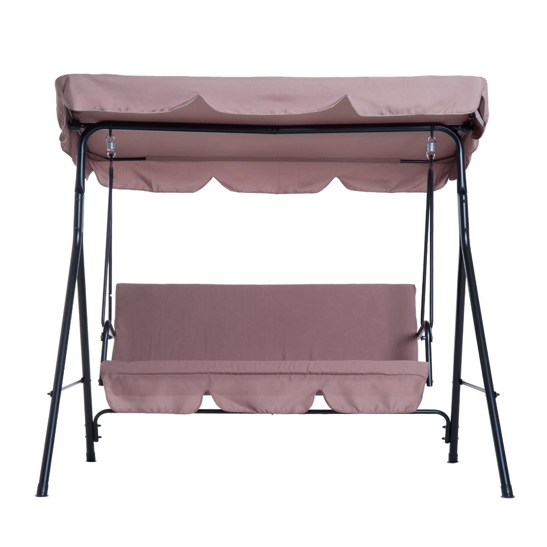 Garden Hammock Swing Chair Backyard 3 Seater Adjustable