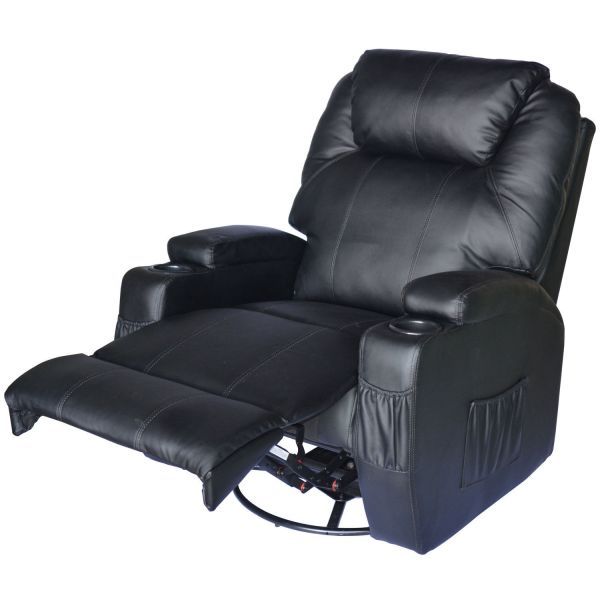 Massage Recliner Sofa Leather Vibrating Heated Chair Lounge     Massage Recliner Sofa Leather Vibrating Heated Chair Lounge