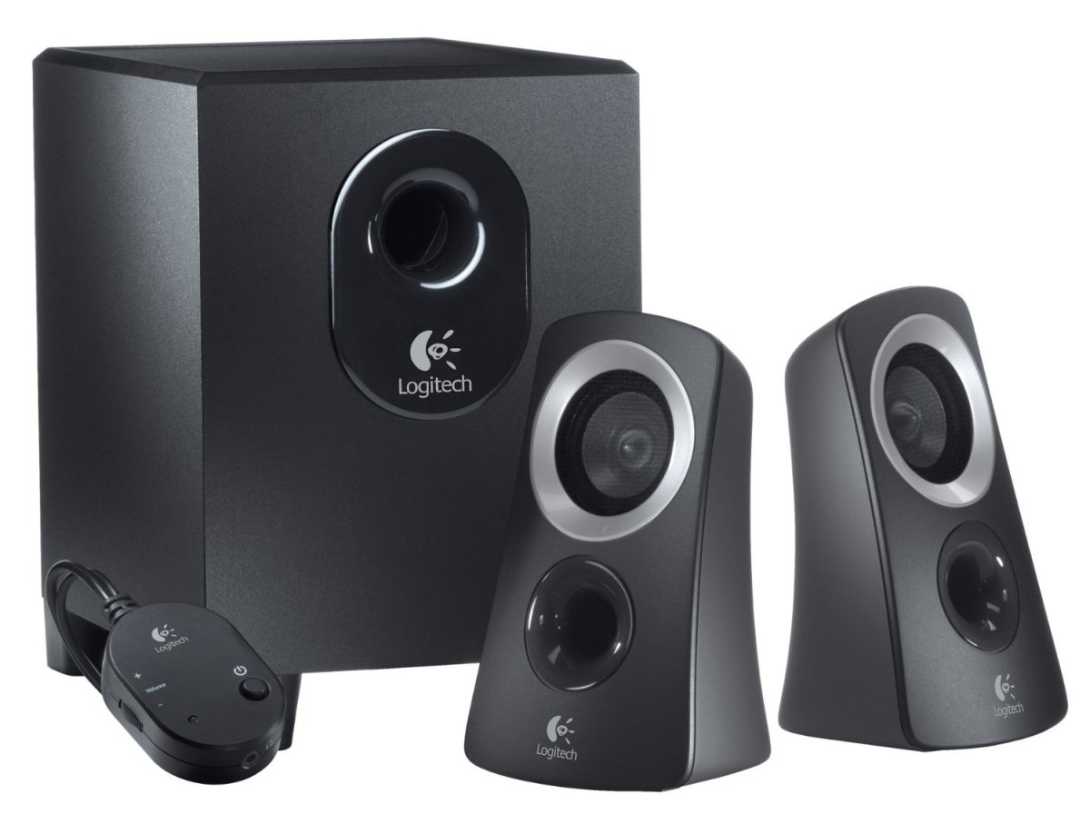 Image result for Logitech Speaker System Z313