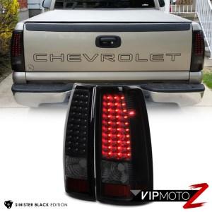 [SINISTER BLACK] 19992002 Chevrolet Silverado 1500 2500