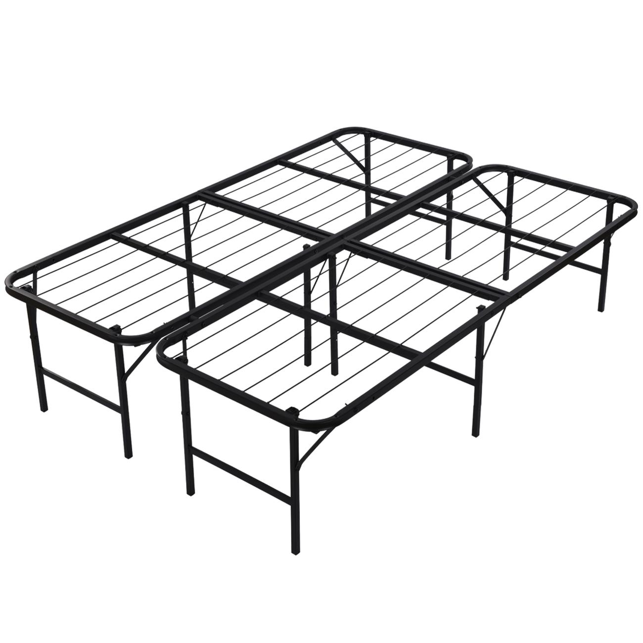Platform Bed Frame Queen Mattress Foundation Foldable