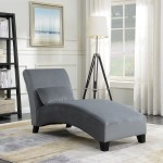 Indoor Chaise Lounge Living Room Comfort Chair W Hardwood Legs Sofa Couch Gray 846183181378 Ebay