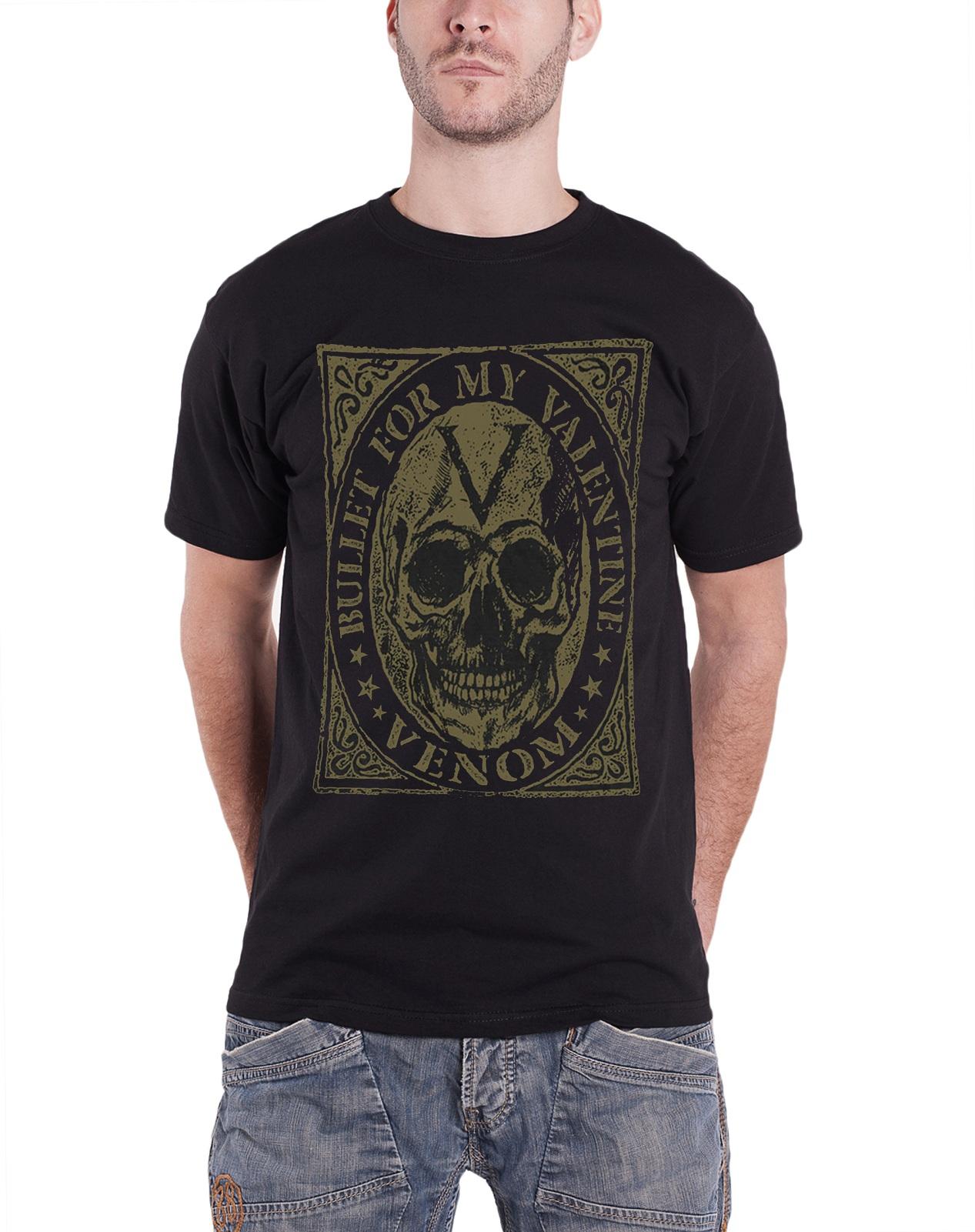 Bullet For My Valentine T Shirt Official Band Logo V Is