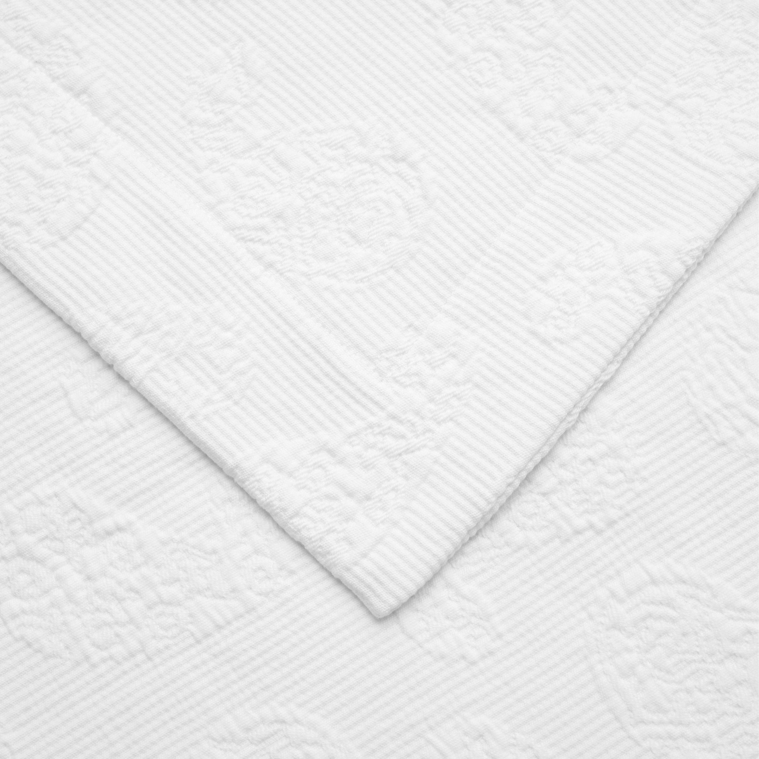 Paisley 100 Cotton Jacquard Matelasse Bedspread