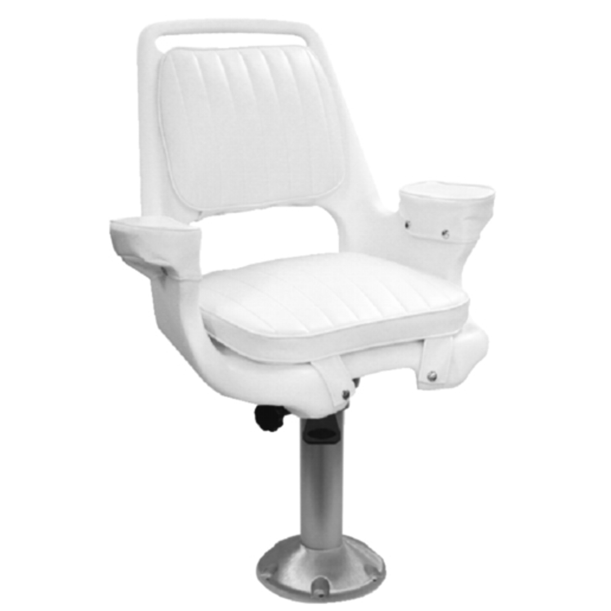 15 Fixed Height Fishing Boat Captains Pilot Chair Seat