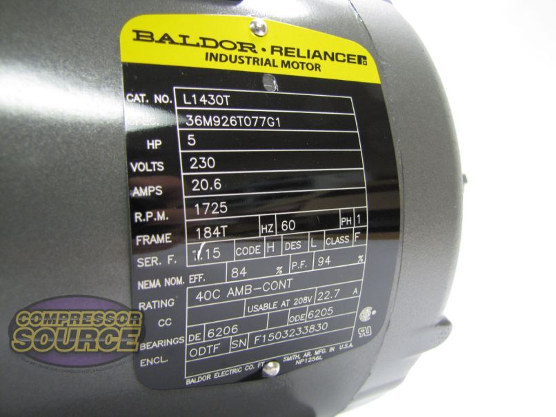 Baldor 3hp Single Phase Motor Wiring Diagram : Baldor 7 5 hp single phase motor wiring diagram motorssite.org