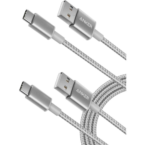 Engineered with a tough double-braided nylon exterior to resist damage from the outside and a precision-designed interior to withstand thousands upon thousands of bends.  Universal Compatibility Supports high-speed charging for USB-C, including Qualcomm Quick Charge to charge up to 80% in just 30 minutes.  High-Speed Performance Constructed with premium components to charge your devices fast PLEASE NOTE: Not compatible with Power Delivery. This is a USB-C to full-size USB cable. This cable cannot connect to a micro USB port.  Fully Compatible Devices: Galaxy S8 / S8+ / S9 / S9+- HTC 10- Sony XZ- LG V20 / G5 / G6- Xiaomi 5 Compatible Devices: (limited charging speeds)- MacBook (2016) / MacBook Pro 13.3'' / MacBook Pro 15.4''- Nintendo Switch- Google Chromebook / Pixel C- Huawei Mate 9 / P10- MOTO Z / Z Force- One Plus 3