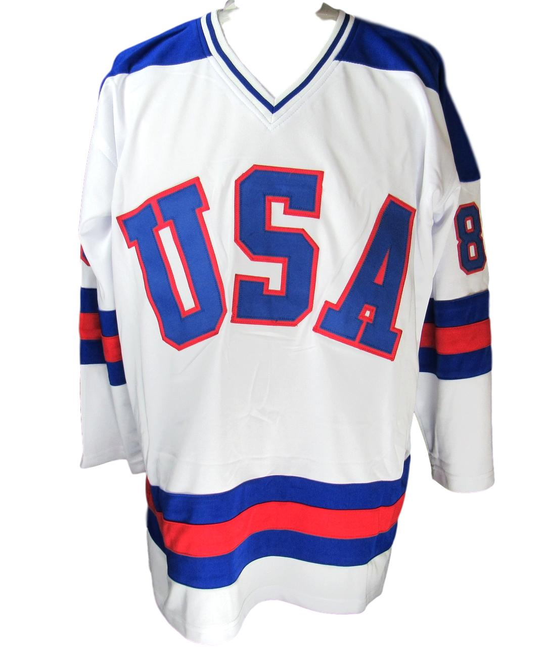 Miracle On Ice Team Usa Olympic Hockey Jersey Signed