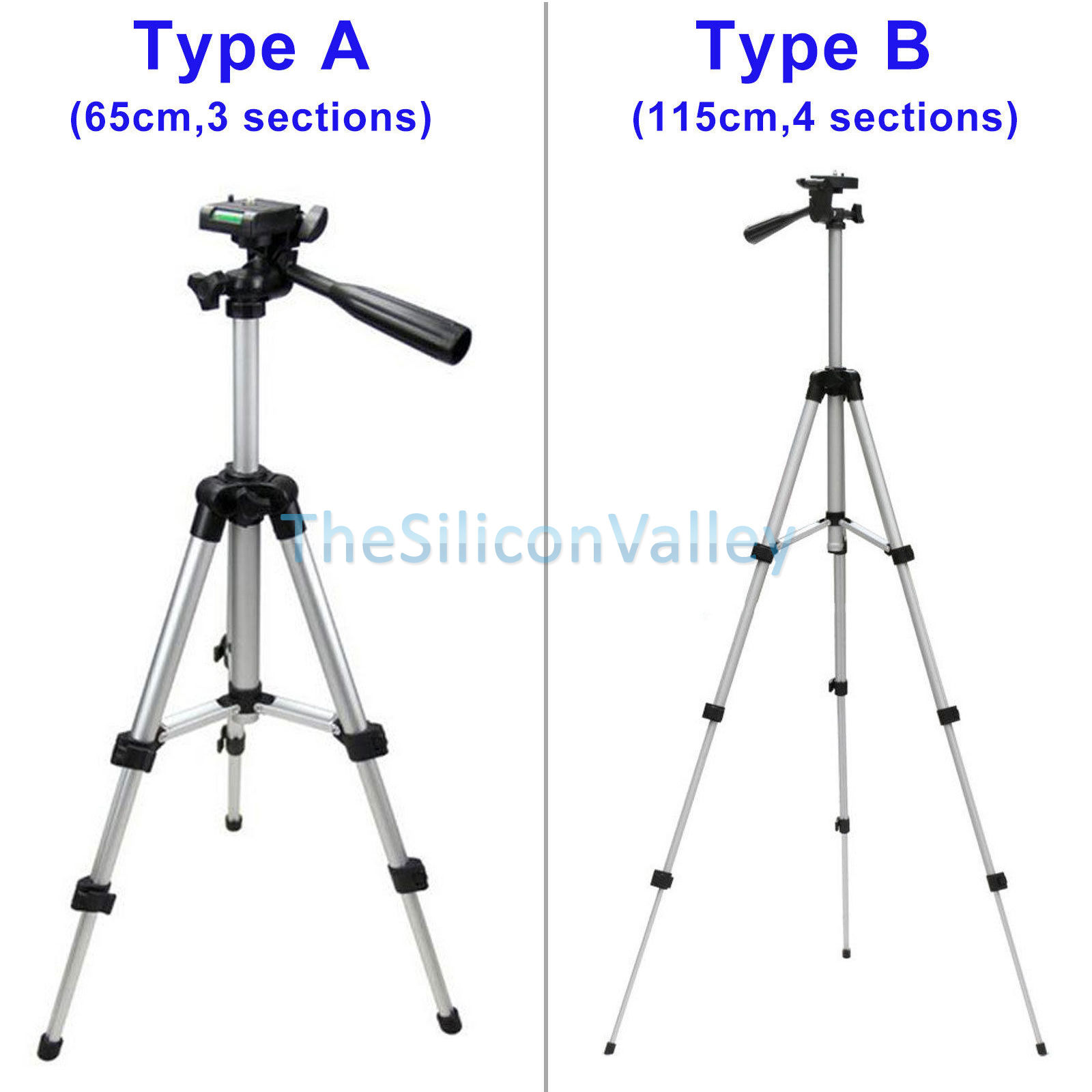 Portable Professional 360 Adjustable Camera Tripod Stand