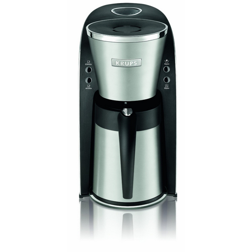 Krups KT720D50 10-Cup Thermal Carafe Coffee Maker Stainless Steel (Refurbished)