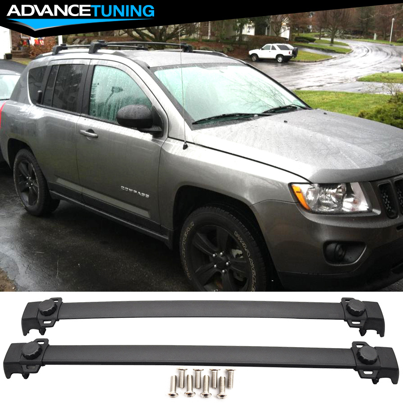 details about fits 11 16 jeep compass oe style roof rack cross bar crossbar luggage carrier