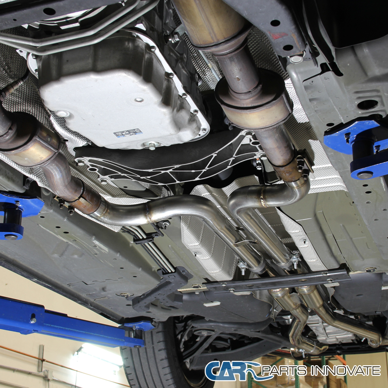 shelly blundell camaro exhaust system
