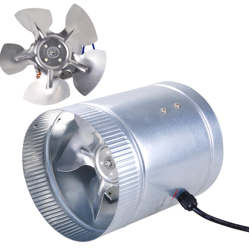 details about 6 inline duct fan booster blower exhaust ducting air cooling vent fan 260 cfm