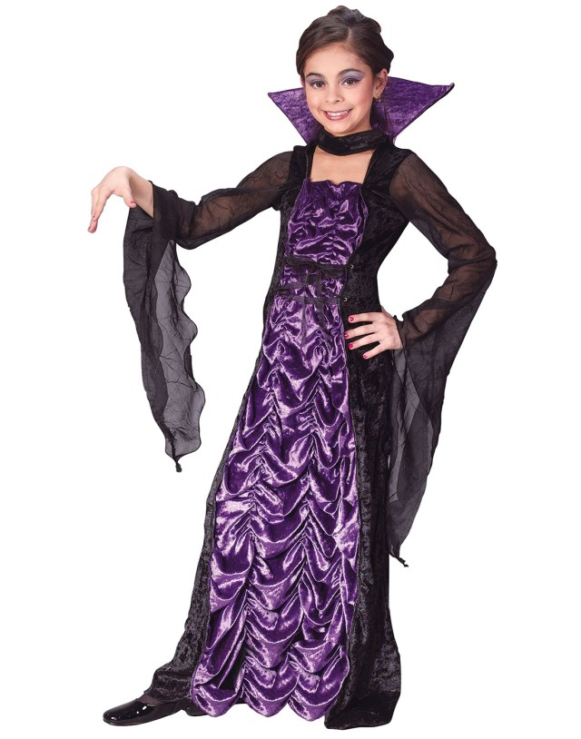 vampire halloween costume for girls & countess of darkness