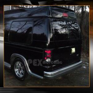 Black Ford Excursion  Econoline Van E150E250E350E450