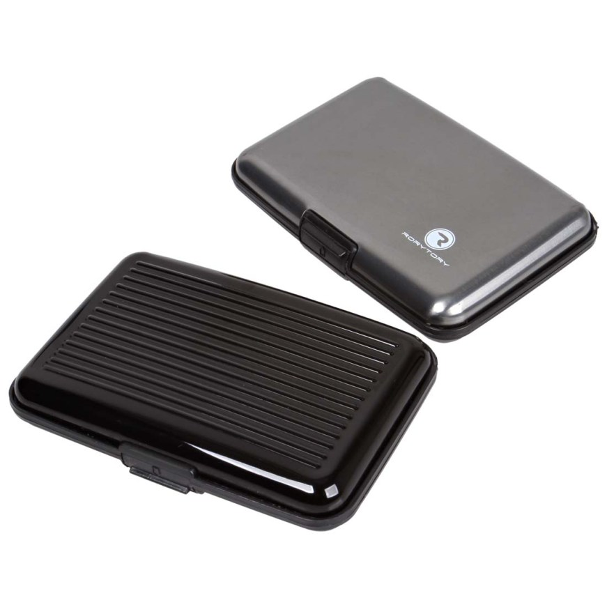 RoryTory 6pc RFID Protection Aluminum Credit Card Wallet ...