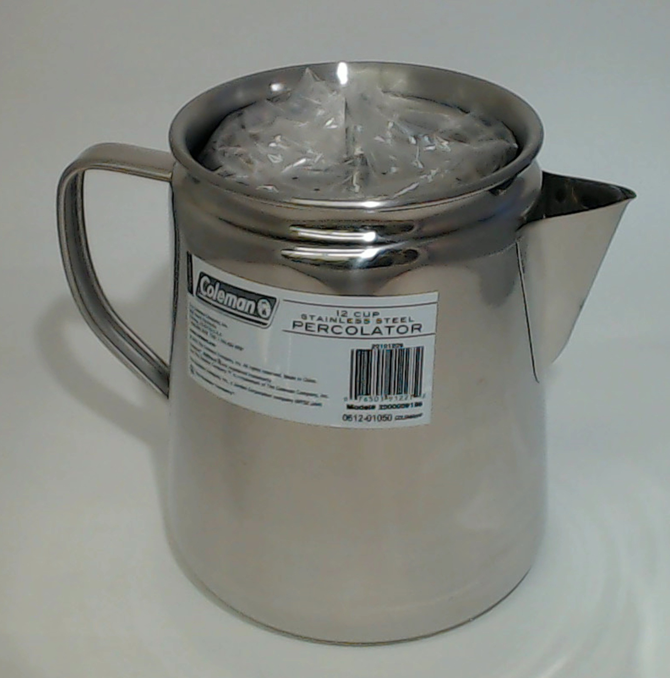 details about new missing lid coleman 12 cup stainless steel coffee