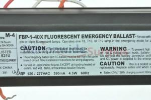 Cooper Lighting FBP140X Fluorescent Emergency Ballast