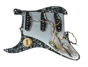 Fender TexMex 920D Loaded Prewired Strat Pickguard BPBK