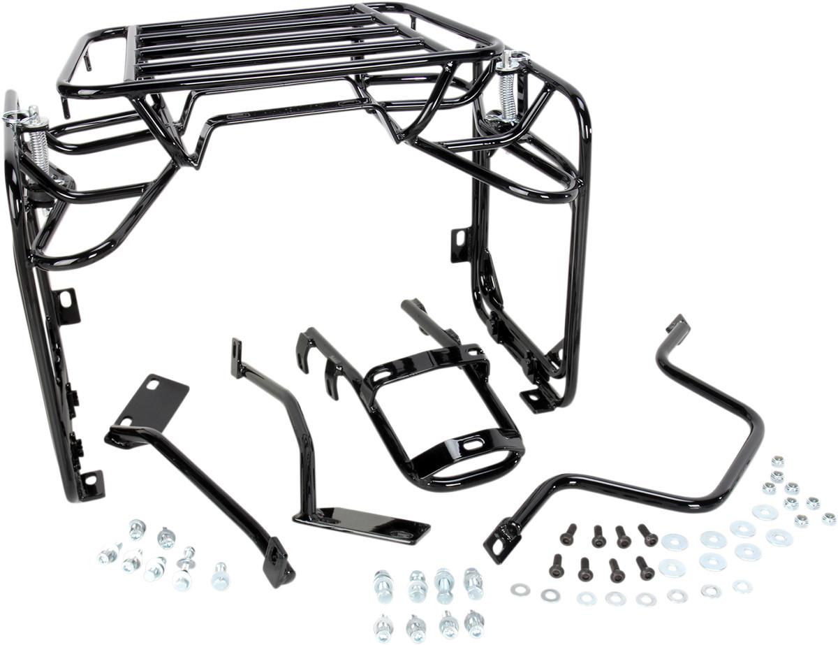 Moose Racing Expedition Luggage Rack System Mounts For Kawasaki Klr 650 87 07